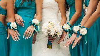結婚式のコーデ